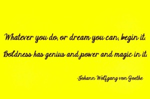 Goethe quote on dreams