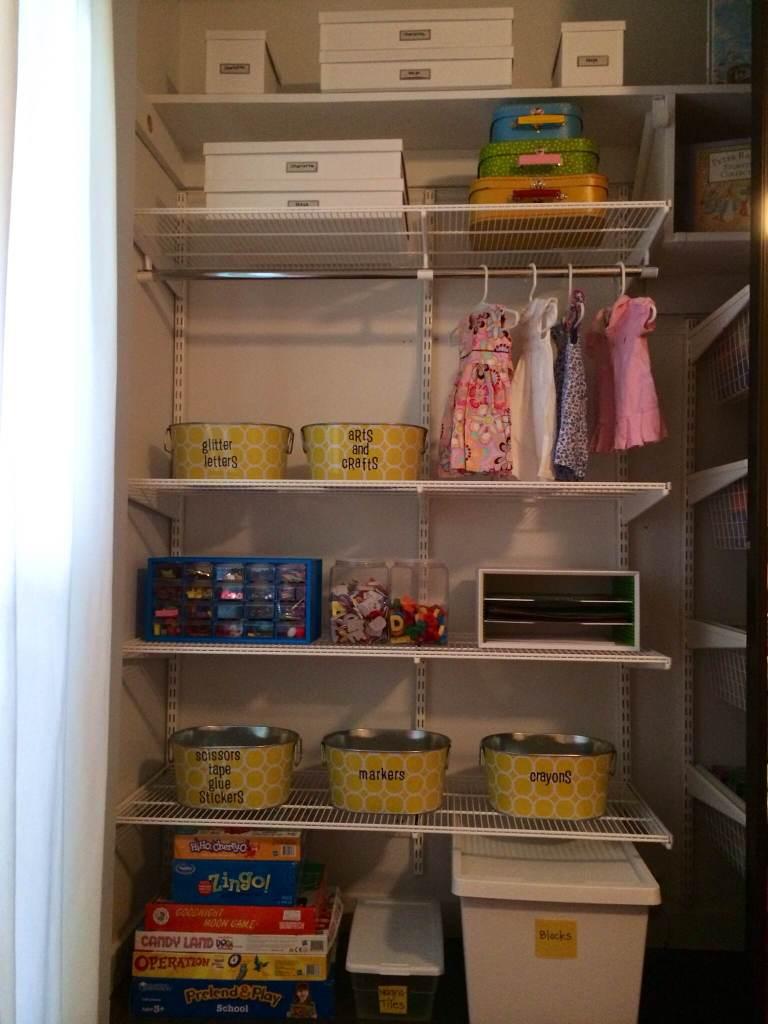 playroom closet