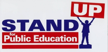 stand up for public education