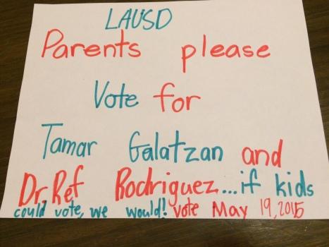 Vote May 19th LAUSD School Board